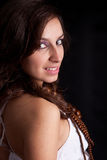 Young and beautiful woman portrait Royalty Free Stock Images