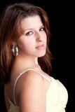 Young and beautiful woman portrait Royalty Free Stock Photos