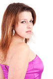 Young and beautiful woman portrait Stock Photography