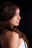 Young and beautiful woman portrait Royalty Free Stock Image
