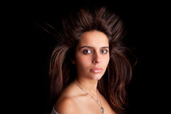 Young and beautiful woman portrait Stock Image