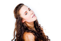 Young and beautiful woman Royalty Free Stock Images