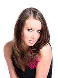 Young beautiful woman portrait Royalty Free Stock Image