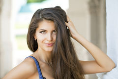 Young beautiful woman Royalty Free Stock Photo