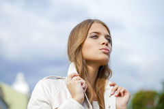 Young beautiful woman Royalty Free Stock Image