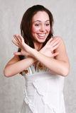Young beautiful woman Royalty Free Stock Photography