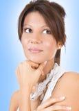 Young beautiful woman posing Stock Image