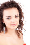 Young and beautiful woman posing Stock Image