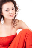 Young and beautiful woman posing Stock Photo