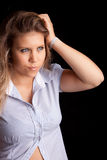 Young and beautiful woman posing Royalty Free Stock Photo