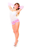 Young beautiful woman posing Royalty Free Stock Photo