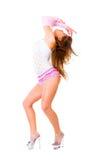 Young beautiful woman posing Stock Photography