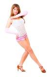 Young beautiful woman posing Stock Images
