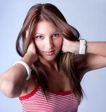 Young beautiful woman posing Royalty Free Stock Photo