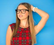 Young beautiful woman Stock Image