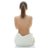 Young beautiful woman - spa concept Stock Photo