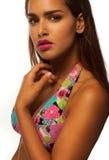 Young beautiful woman wearing bikini Royalty Free Stock Photos