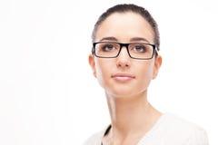 Young beautiful woman wearing glasses Royalty Free Stock Photo