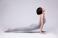 Young beautiful woman yoga posing Stock Image