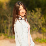 Young beautiful young woman portrait Royalty Free Stock Photography