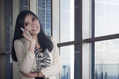Young and beauty asian business woman Royalty Free Stock Images