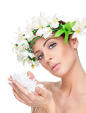 Young beauty with perfect skin Royalty Free Stock Photo