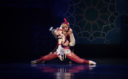 "Young beauty and wit Chehnalad- ballet ""One Thousand and One Nights"" Royalty Free Stock Image"