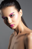 Young Beauty Woman With Creative Bright Make-up Stock Photos