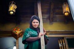 Young beautyful Iranian woman Stock Photo