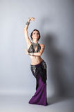 Young beautyful tribal dancer woman Stock Images