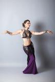 Young beautyful tribal dancer woman Royalty Free Stock Photos