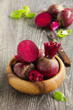 Young beets Royalty Free Stock Images
