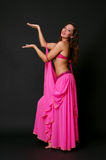 Young belly dancer Royalty Free Stock Images