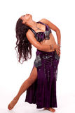 Young belly dancer dancing a turn Stock Image