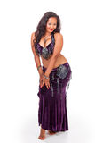 Young belly dancer in seductive pose Stock Image