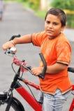 Young biker Stock Photos
