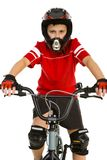Young biker Royalty Free Stock Image