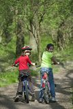 Young bikers Royalty Free Stock Photography