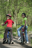 Young Bikers Royalty Free Stock Photos