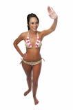 Young bikini model Stock Image