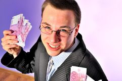 Young bizmesmen Stock Photos