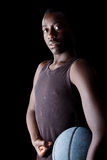 Young black Basketball player Stock Photo