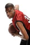 Young Black basketball player Stock Photo