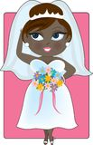 Young black bride Stock Photos