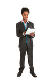 Young black business man Royalty Free Stock Photography