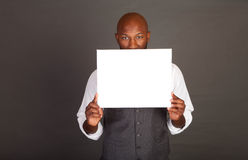Young Black Business Man Stock Photography