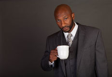 Young Black Business Man Royalty Free Stock Photos