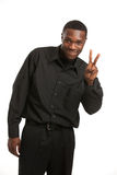 Young Black Business Man Portrait Stock Photography