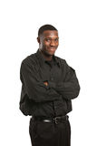 Young Black Business Man Portrait Stock Images