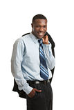 Young Black Business Man Portrait Royalty Free Stock Photo
